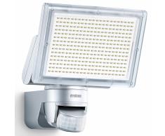 Steinel Foco de exterior con sensor XLED Home 3 plateado 029739