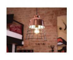Beliani Lámpara de techo, Iluminación colgante, Metal, Color cobre, MONTE