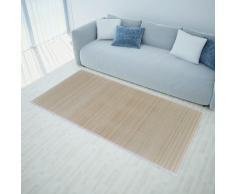 vidaXL Alfombra de bambú natural rectangular, 80 x 200 cm