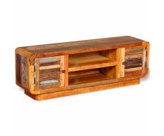 vidaXL Mueble para TV de madera reciclada 120x30x40 cm