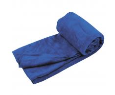 Travelsafe Toalla de viaje microfibra rizo talla L azul TS3101