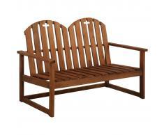vidaXL Banco de jardín 110 cm madera de acacia maciza