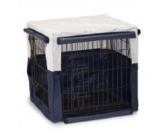 Beeztees Cubierta para jaula de perro Benco 63x55x61 cm azul 715955