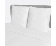 vidaXL 5 Juegos de sábanas algodón modelo rayas 200x220 / 80x80 cm