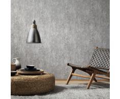 vidaXL Rollos de papel pintado no tejido 2 uds gris hormigón 0,53x10 m
