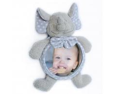 Bo Jungle B-Car & Home Espejo de coche para bebé Elefante B390110