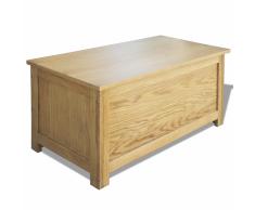 vidaXL Caja de almacenamiento roble 90x45x45 cm