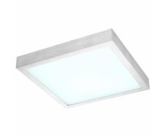 GLOBO Lámpara LED de techo TAMINA aluminio plateado 41661