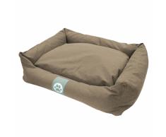 Overseas Cama para perro lona 90x70x22 cm arena