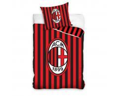 AC Milaan Set funda de edredón infantil AC Milan 200x140 cm DEKB159001