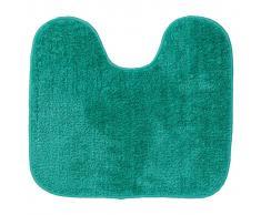 Sealskin Alfombra de baño con pedestal Doux verde 294428430, 45 x 50cm