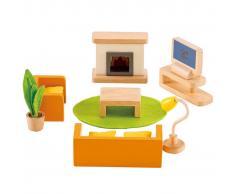 Hape Salón de juguete Media Room E3452