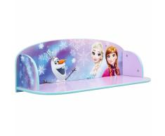 Disney Estante infantil libros Frozen morado 60x20x21 cm WORL234025