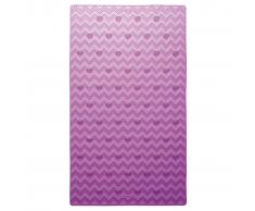 Sealskin Alfombrilla de seguridad baño Leisure 40x70 cm rosa 315244650