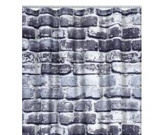 RIDDER Cortina de ducha Wall poliéster 180x200 cm