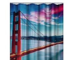 RIDDER Cortina de ducha San Francisco poliéster 180x200 cm