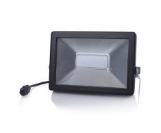 SMARTWARES Foco LED 50 W negro FL1-B50B