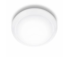 Philips Lámpara de techo LED myLiving Cinnabar blanca 4x5 W 333653116