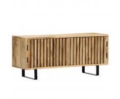 vidaXL Mueble para la TV 90x30x40 cm madera maciza de mango