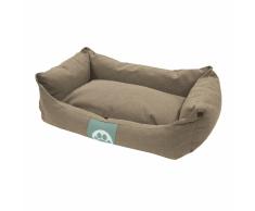 Overseas Cama para perro lona 60x40x18 cm arena
