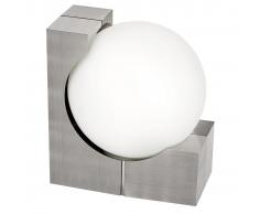 EGLO Lámpara de pared exterior Ohio 60 W plateada 89314