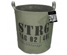 Gusta Cesta de almacenamiento 33x37 cm verde militar 04126110