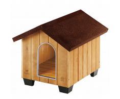 Ferplast Caseta para perros Domus Small madera 61x74,5x55 cm 87001000