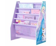 Disney Estante de libros infantil Frozen morado 60x23x51 cm WORL234018