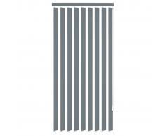 vidaXL Persiana vertical tela gris 150x180 cm