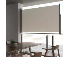 vidaXL Toldo lateral retráctil para patio 140x300 cm crema