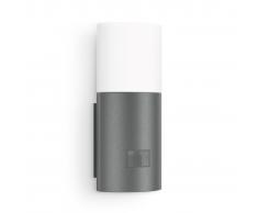 Steinel Aplique con detector de movimiento y LED L 900 Antracita