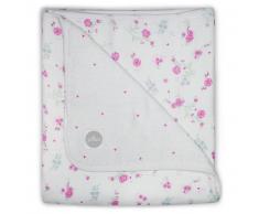 Jollein Manta de muselina bebé floreada 75x100 cm rosa 521-511-65058