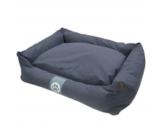 Overseas Cama para perro 90x70x22 cm azul marino