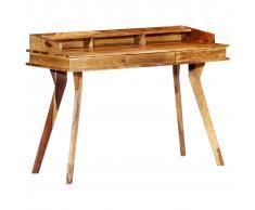 vidaXL Escritorio de madera maciza de sheesham 115x50x85 cm
