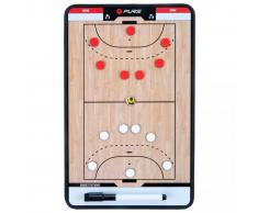 Pure2Improve Pizarra de entrenador balonmano 2 caras 35x22cm P2I100610