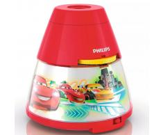 Philips Proyector y luz de noche 2 en 1 Disney Cars rojo 717693216