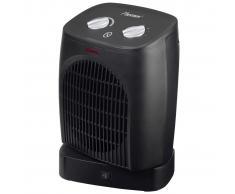 Bestron Calefactor de ventilador 2000 W grande negro AFH218