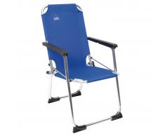 Camp Gear Silla plegable de camping para niños azul aluminio