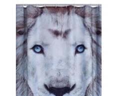 RIDDER Cortina de ducha Lion poliéster 180x200 cm