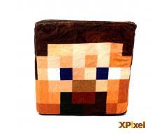 Xpixel Cojin Pixel Cubo de Peluche - Cabeza de Steve