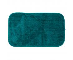 Sealskin Alfombra de baño Doux color turquesa 294425426, 50 x 80 cm