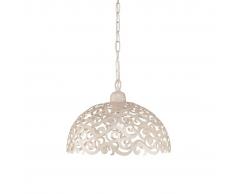 Massive Cantré lámpara de techo colgante blanca, 1 x 60W 230 V