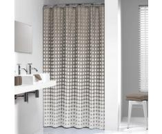 Sealskin cortina de ducha 180 cm modelo Speckles 233601367(Color Topo)