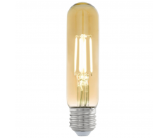 EGLO Bombilla LED de estilo vintage E27 T32 11554, Color ámbar
