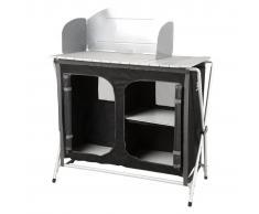 TRYUN Armario Aluminio Barbacoa 88X52X88Cm - - Cabinet Bbq