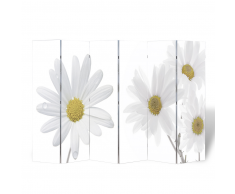 vidaXL Biombo con diseño floral 240 x 180