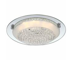 GLOBO Lámpara LED de techo FROO vidrio 48249