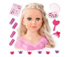 Bayer Set para peinar muñecas Super Model Charlene 27 cm 90088AA