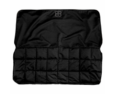 PetEgo Protector asiento trasero del coche 122x132 cm negro EBSPRS BL