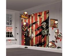 Kit de decoración Halloween Única